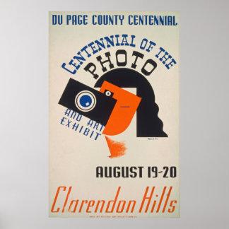Hundertjähriges Plakat des Kunst-Foto-1939 WPA