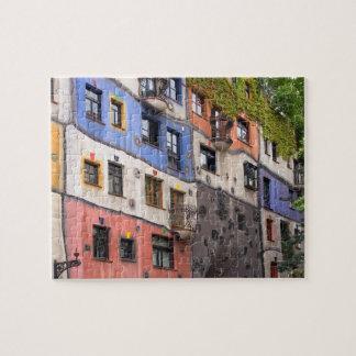 Hundertwasser in Wien-Foto Puzzle