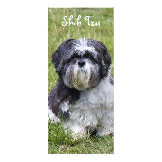 Hundeschönes niedliches Foto-Lesezeichen Shih Tzu Werbekarte
