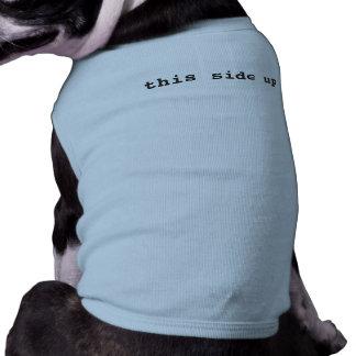 Hundeshirt - diese Seite oben T-Shirt