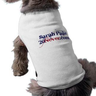Hundeshirt - Sarah Palin 20Never Top