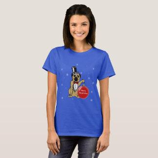 Hundeshowe Sir-Pug Ihre Weihnachtswünsche! T-Shirt