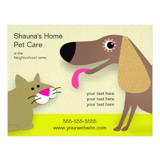 Hundesorgfalt-Geschäft Flyer