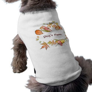 HundeT - Shirt - Herbst-Blätter