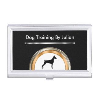 Hundetrainer-Visitenkarte-Kasten Visitenkarten Dose