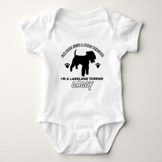 Hundevatientwürfe LAKELANDS TERRIER Baby Strampler