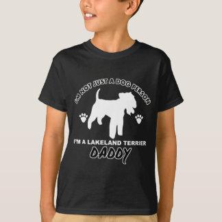 Hundevatientwürfe LAKELANDS TERRIER T-Shirt