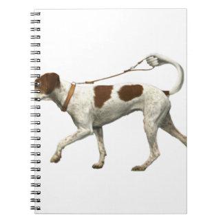 Hundewanderer - HundeSchwanz - braque Heiliges Notizblock
