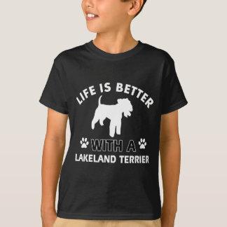 Hundezuchtentwürfe Lakelands Terrier T-Shirt