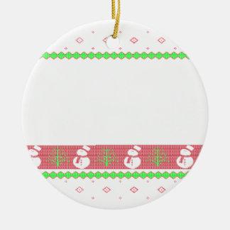HundUlgy Weihnachten Rundes Keramik Ornament