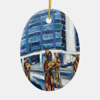 Hungerdenkmal Keramik Ornament