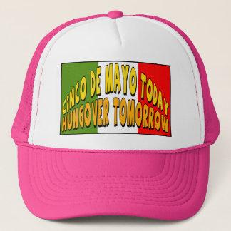Hungover T - Shirts und Geschenke Cinco Des Mayo Truckerkappe