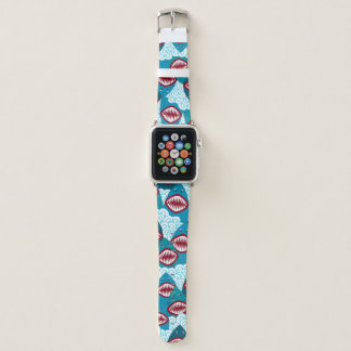 Hungrige Haifische Apple Watch Armband