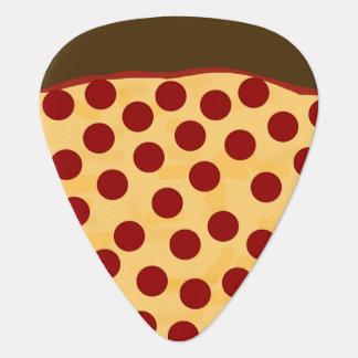 Hungrige Musiker-Pepperoni-Pizza Plektrum