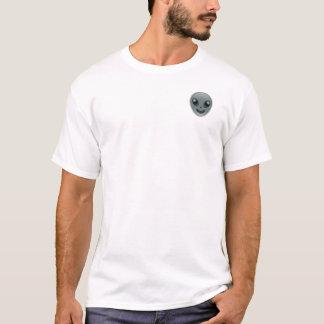 Hungriger alien Emoji T - Shirt (oberster links