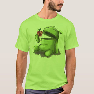 Hungriger Android T-Shirt