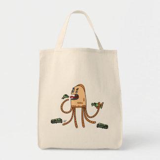 Hungriger Bot - Lebensmittelgeschäft-Tasche Einkaufstasche