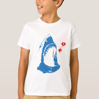 Hungriger Haifisch T-Shirt