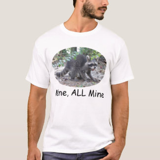 Hungriger Raccoon - gewinnen Sie ALLEN Bergwerk-T T-Shirt