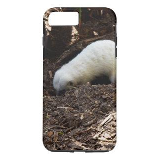 Hungriges weißes Meerkat, iPhone 8 Plus/7 Plus Hülle