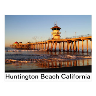 Huntington Beach Kalifornien Postkarte