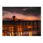 Huntington Beach, Kalifornien Postkarte