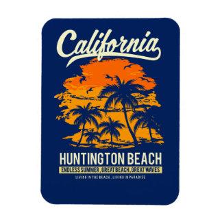 Huntington Beach Kalifornien Sonnenuntergang Magnet