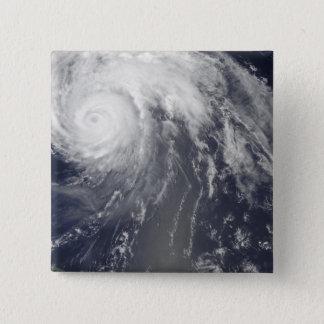 Hurrikan Bill vor Bermuda Quadratischer Button 5,1 Cm