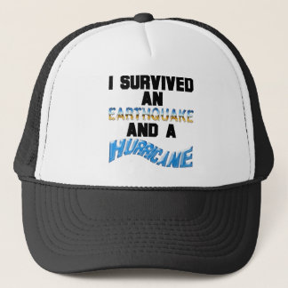 Hurrikan-Erdbeben Truckerkappe