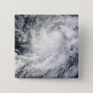 Hurrikan-Frank vor Mexiko Quadratischer Button 5,1 Cm