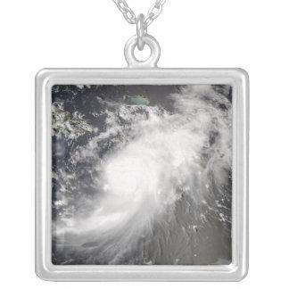 Hurrikan Gustav über Hispaniola Versilberte Kette