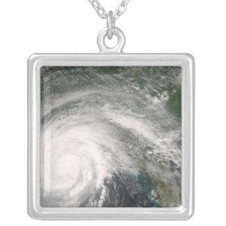 Hurrikan Gustav über Louisiana Versilberte Kette