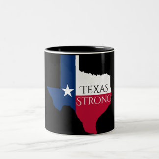 Hurrikan Harvey Texas starke Staats-Kaffee-Tasse Zweifarbige Tasse