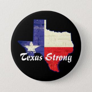 Hurrikan Harvey Texas starker Knopf Runder Button 7,6 Cm