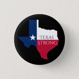Hurrikan Harvey Texas starker Staats-Flaggen-Knopf Runder Button 3,2 Cm