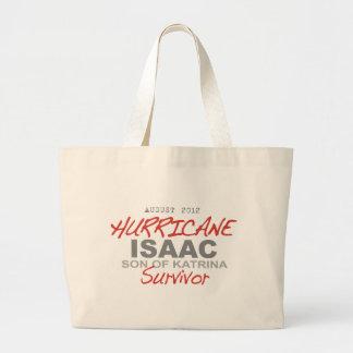 Hurrikan-Isaac-Überlebender Jumbo Stoffbeutel