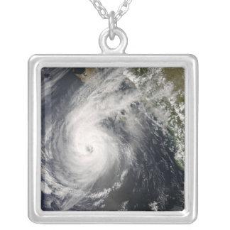 Hurrikan Norbert vor Mexiko 2 Versilberte Kette