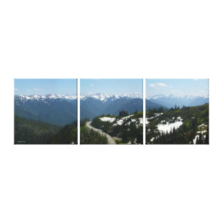 Hurrikan-Ridge-Panorama (Multi-Platte) Leinwanddruck