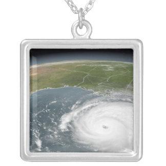 Hurrikan Rita Versilberte Kette