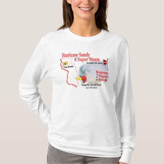 Hurrikan-Sandysupersturm gruppieren T-Shirt