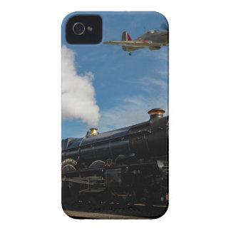 Hurrikane und Dampfzug iPhone 4 Case-Mate Hülle