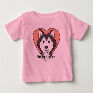 Husky-Liebhaber Baby T-shirt