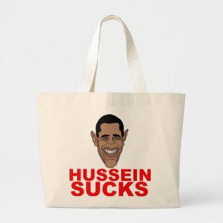 Hussein ist zum Kotzen Jumbo Stoffbeutel