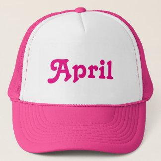 Hut April Truckerkappe