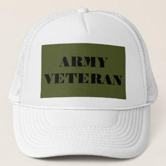Hut-Armee-Veteran Truckerkappe