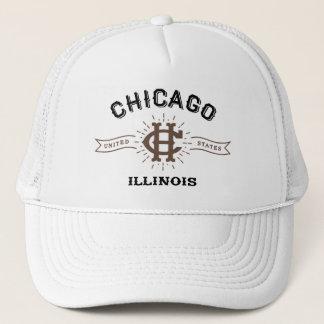 Hut Chicagos Illinois Truckerkappe
