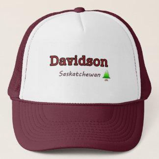 Hut Davidson SK - übersichtliches Design Truckerkappe