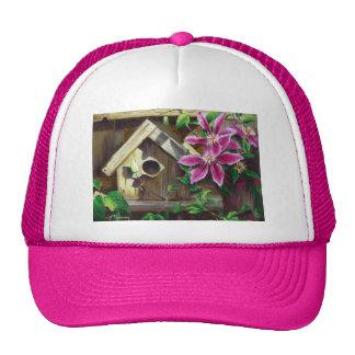 Hut des Birdhouse-0003 u. des Clematis Baseball Cap
