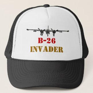Hut des Eindringlings B-26 Truckerkappe
