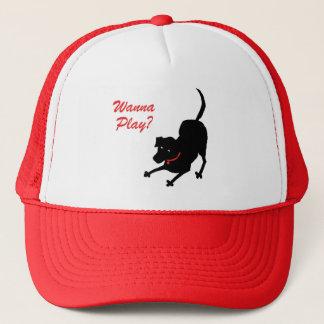 Hut für Hundeliebhaber Truckerkappe